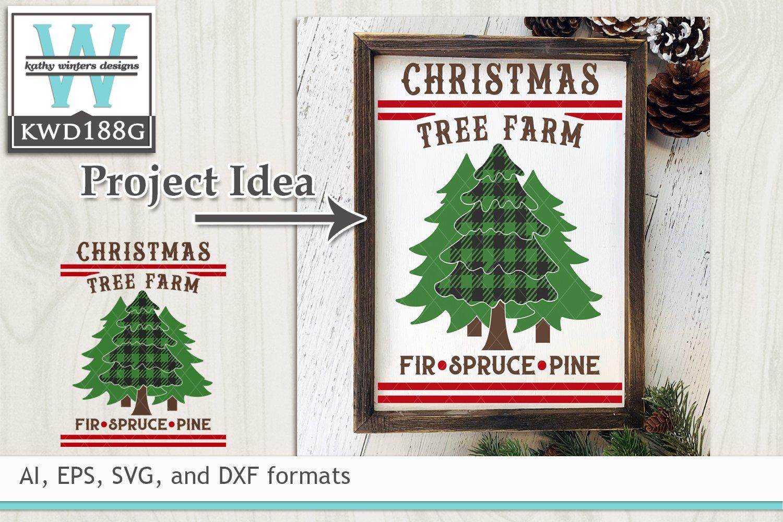 Christmas Svg Christmas Tree Farm 151643 Cut Files Design Bundles