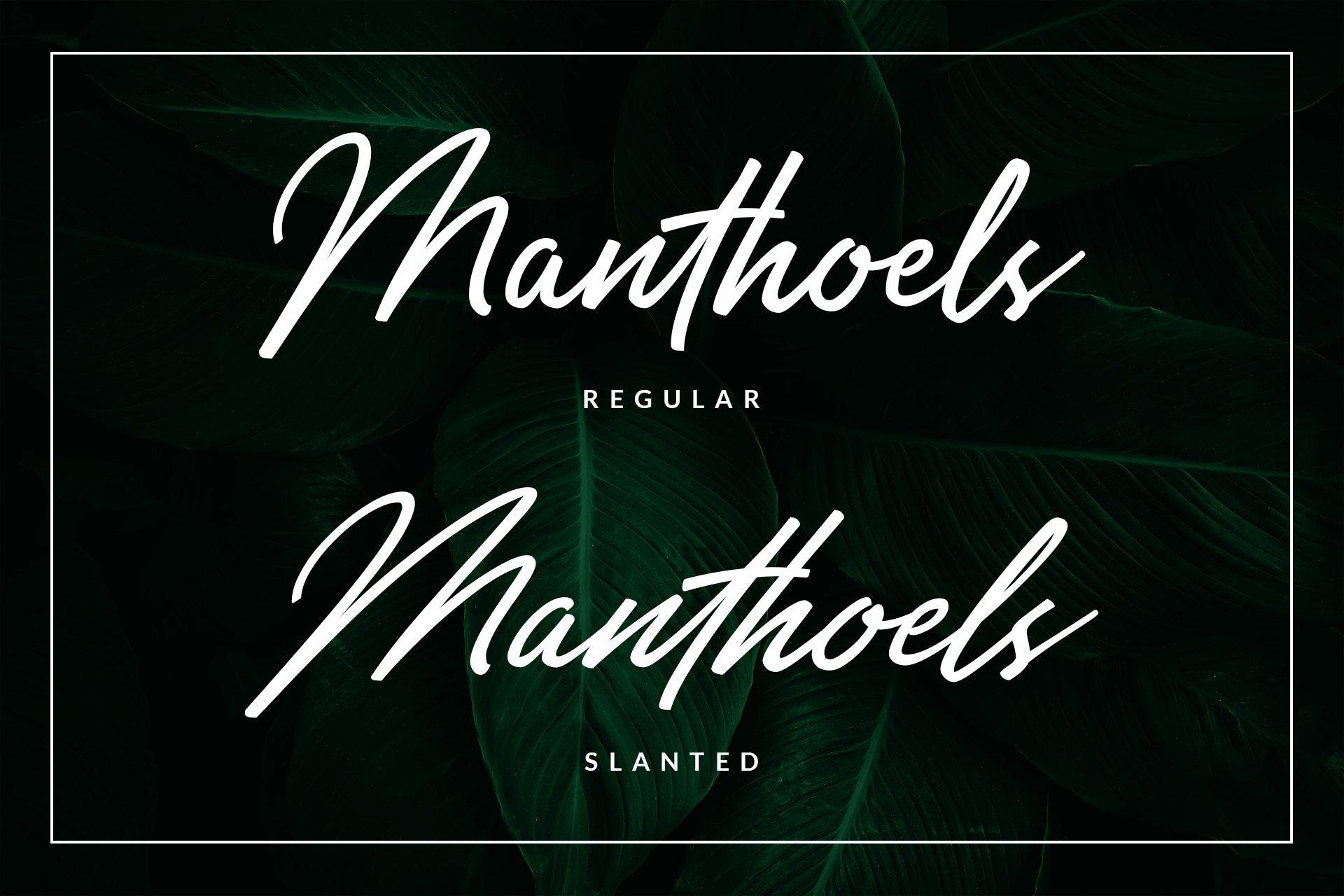Manthoels - Stylish Signature example image 11