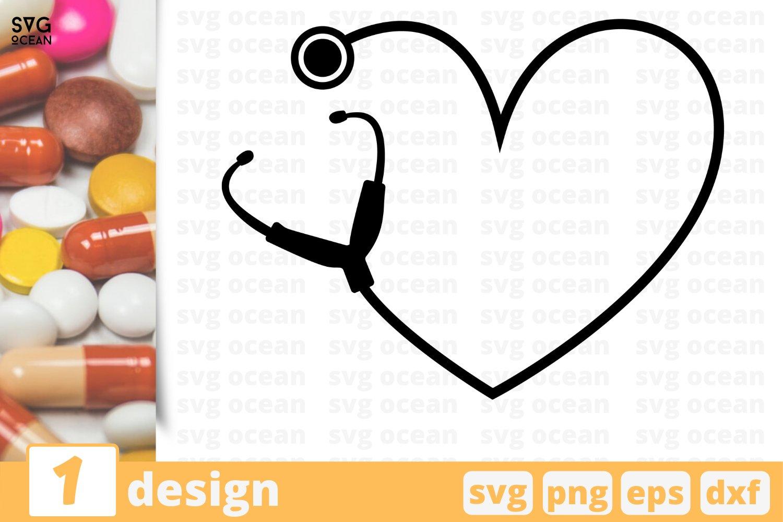 Stethoscope Heart Svg Nursing Svg Nurse Cricut Health 564864 Cut Files Design Bundles