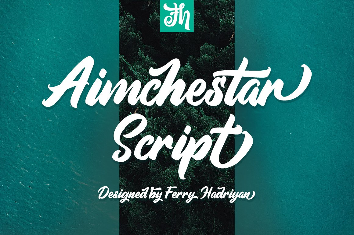 Aimchestar - Script Font example image 1