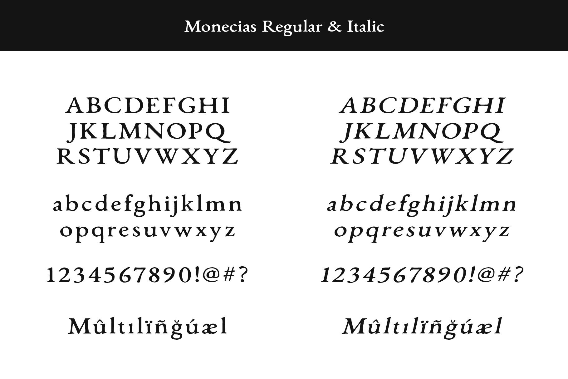Monecias - Natural Hand Drawn Serif example image 9