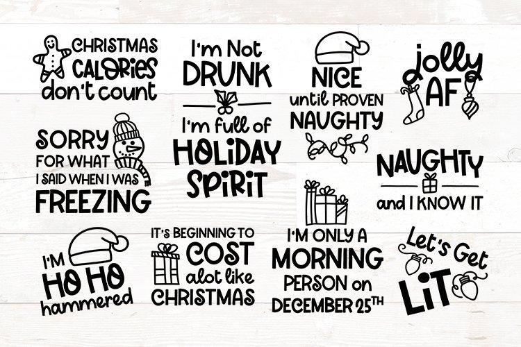 Funny Christmas Sayings Svg Bundle Adult 1025428 Cut Files Design Bundles