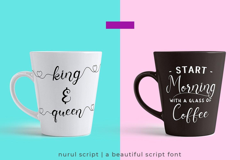 Nurul Script   A Calligraphy Font example image 7
