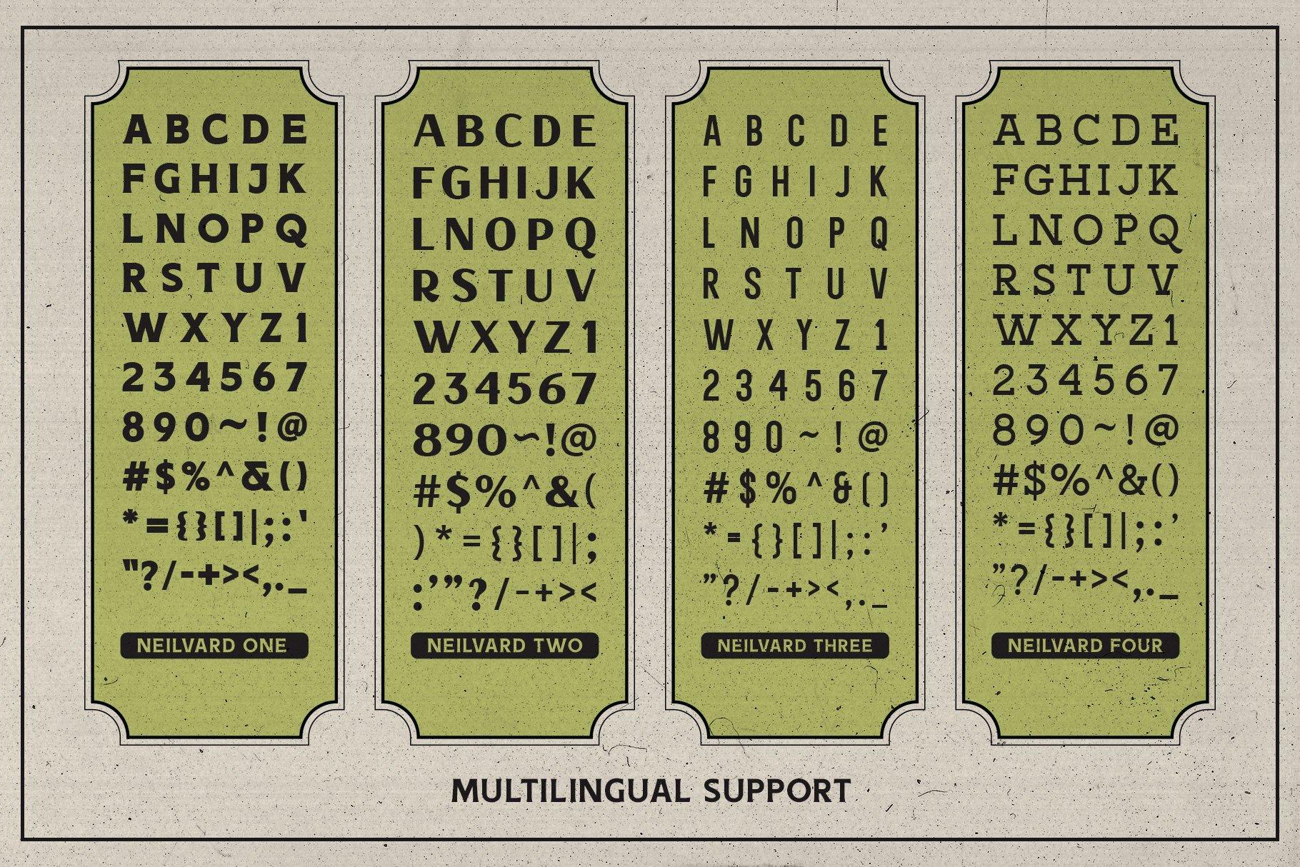 Neilvard - Font Set example image 7