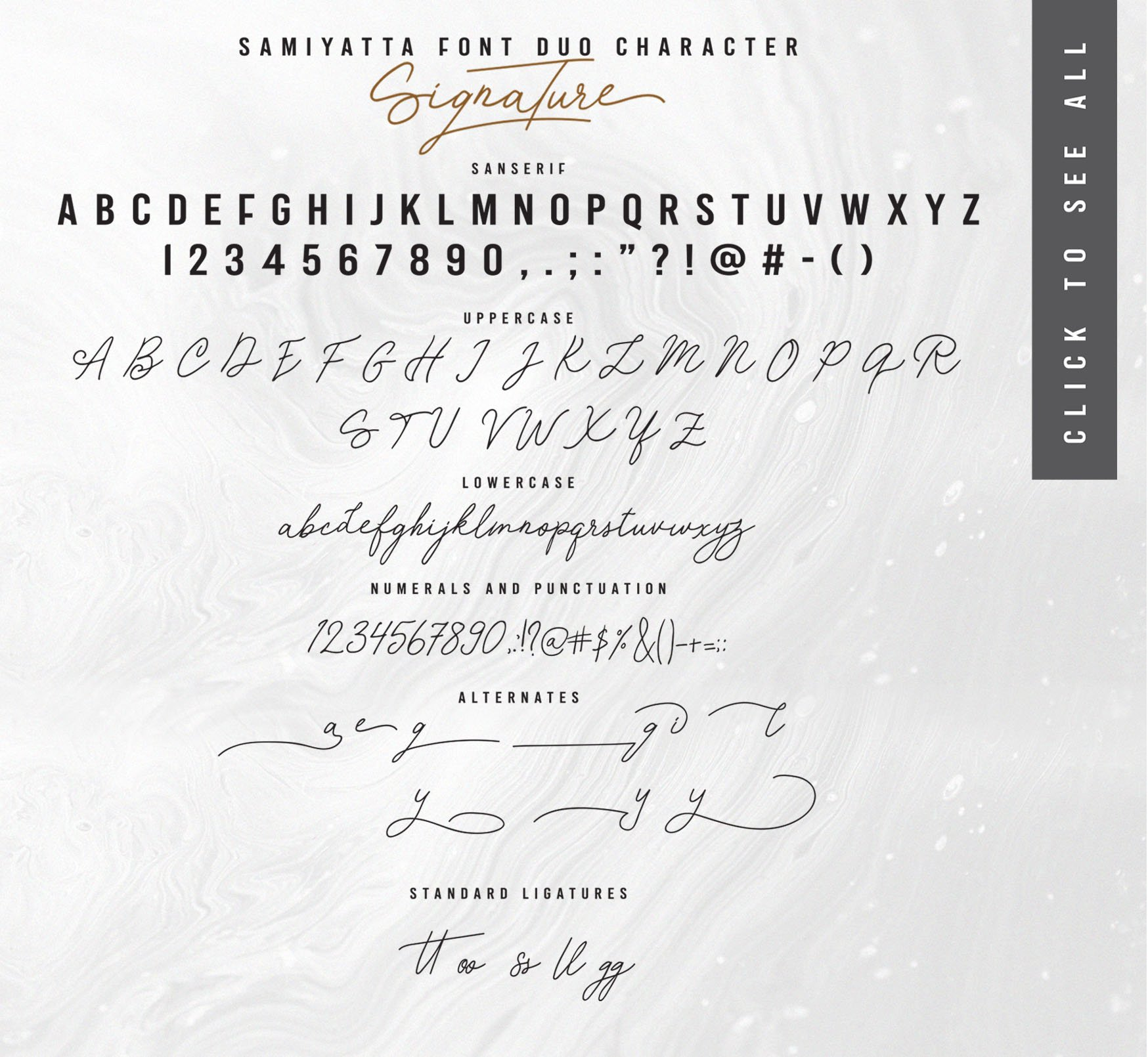 Samiyatta Font Duo example image 12