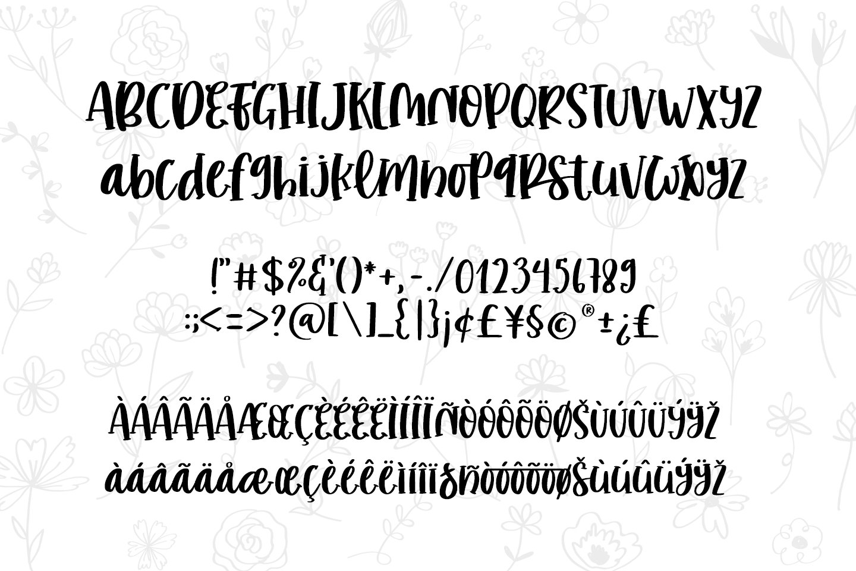 romantic stories - handcraft font - example image 11