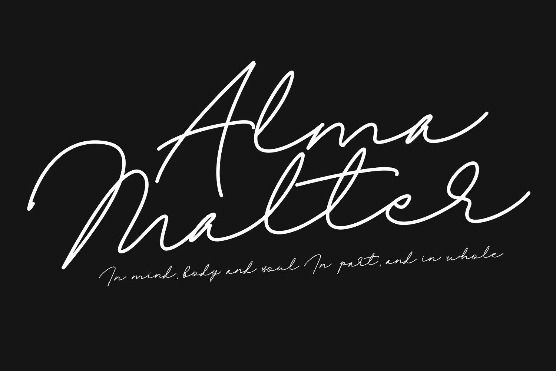 Olagre Beautiful Handmade Font example image 3