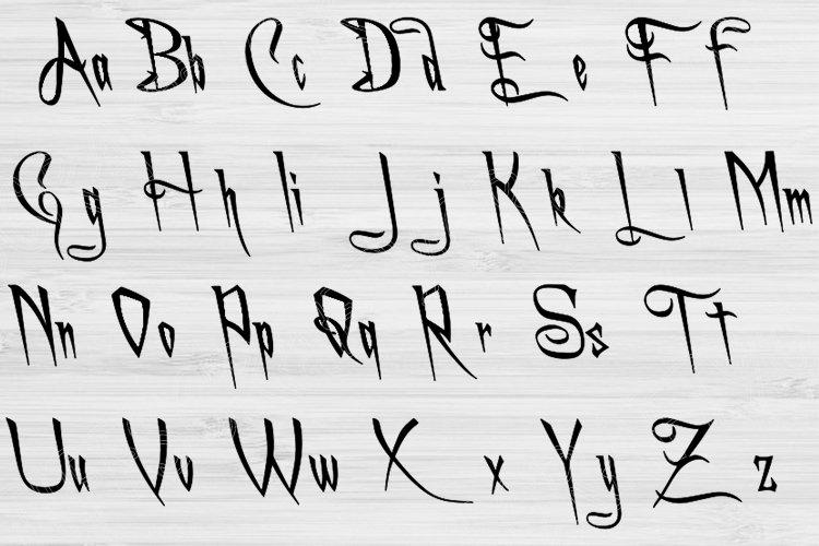 Download Letter Fonts Svg Script Vine Digitial Download for Cricut ...
