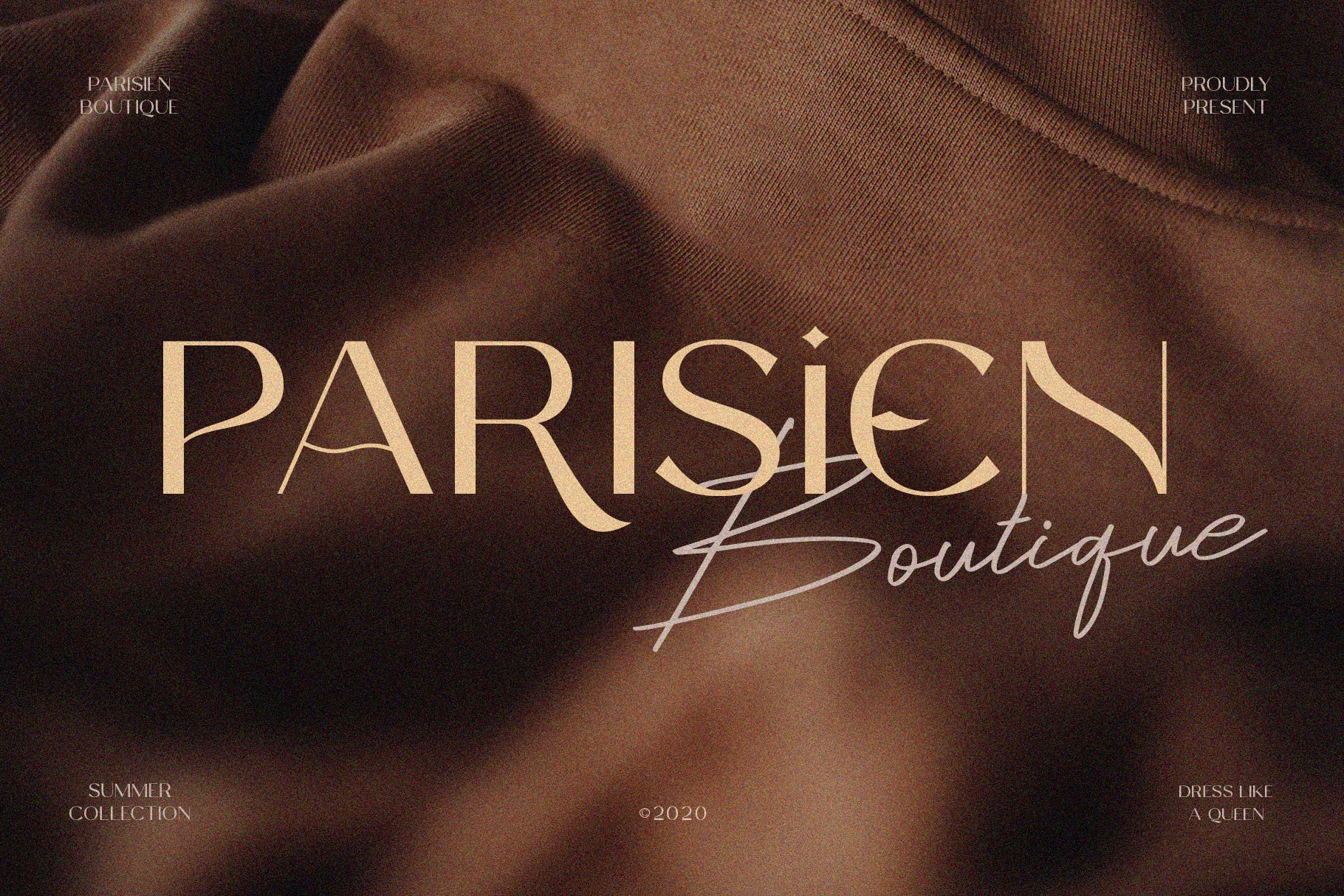 Celine Peach - A Luxury Font Duo example image 7
