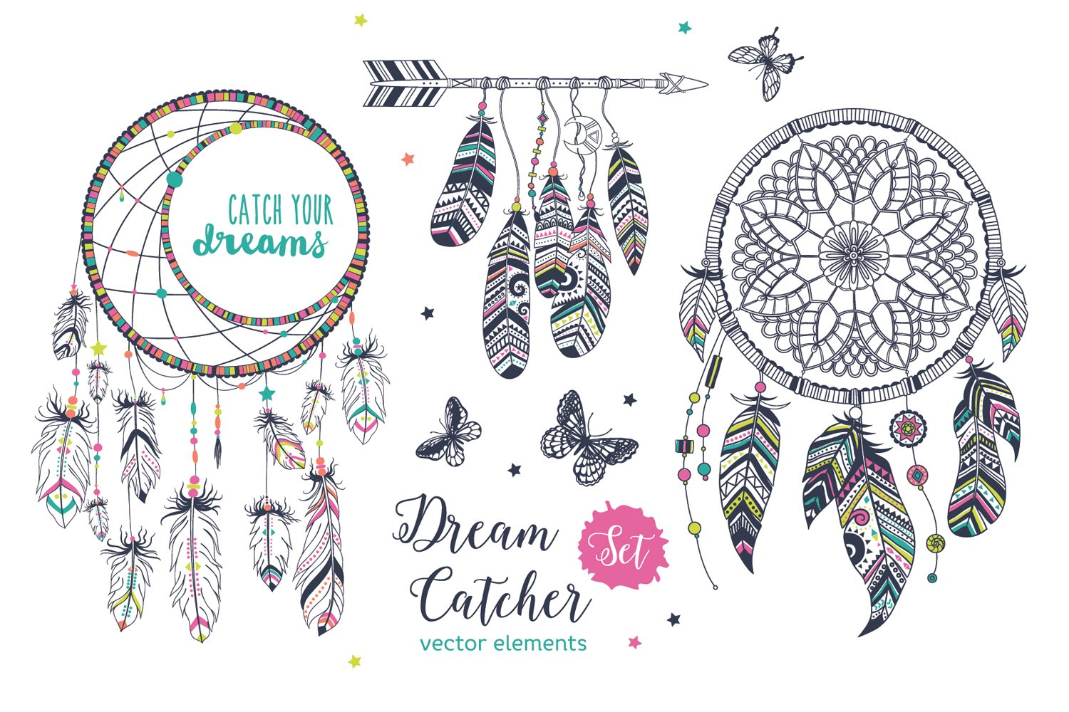 Dreamcatchers Set example image 5