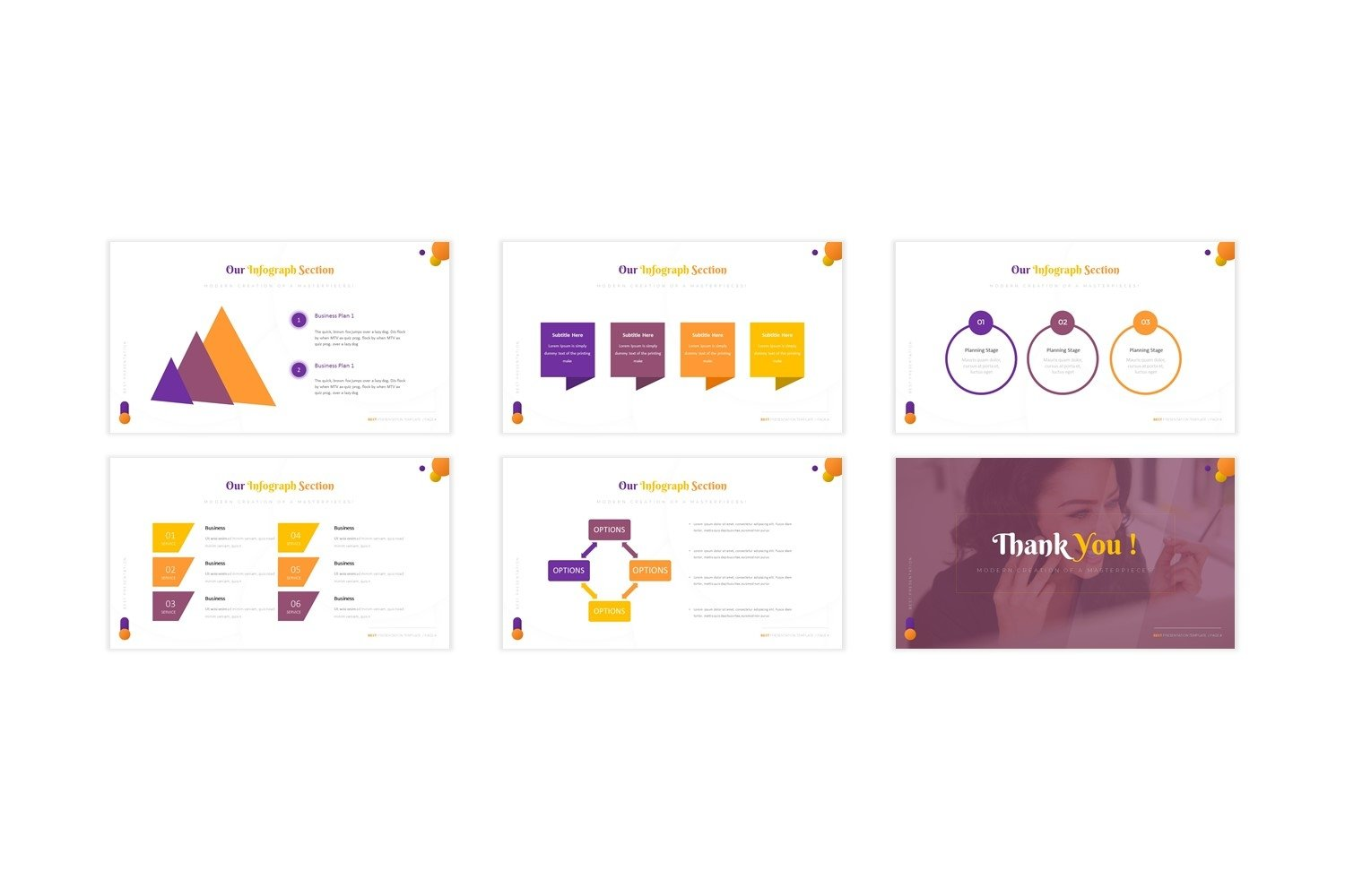 Impruvedstars - Powerpoint Template example image 2