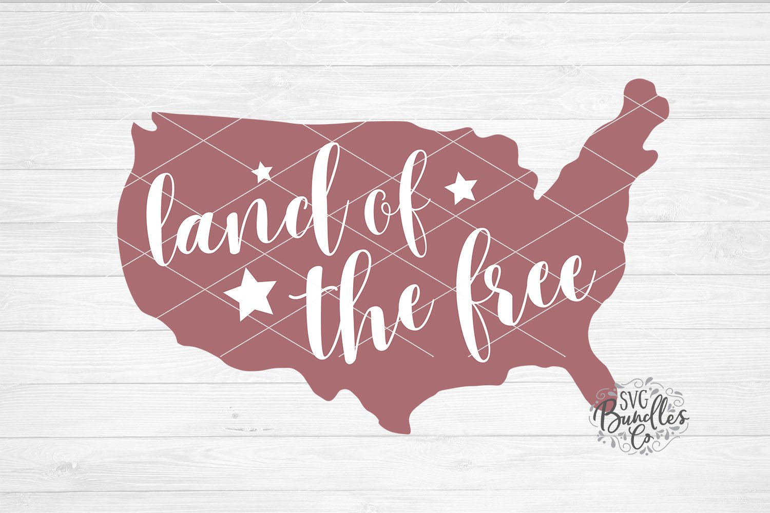 Land Of The Free 4th Of July Svg Dxf Png 679082 Cut Files Design Bundles