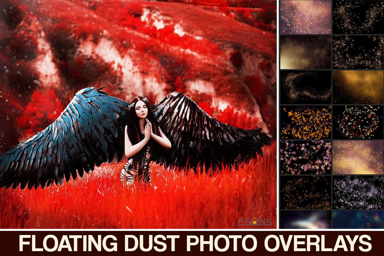 Dust overlays Digital backdrop 20 Magic Dust Overlay Magic lights Fairy overlays Magic overlays Floating Dust Photoshop Overlay JPEG
