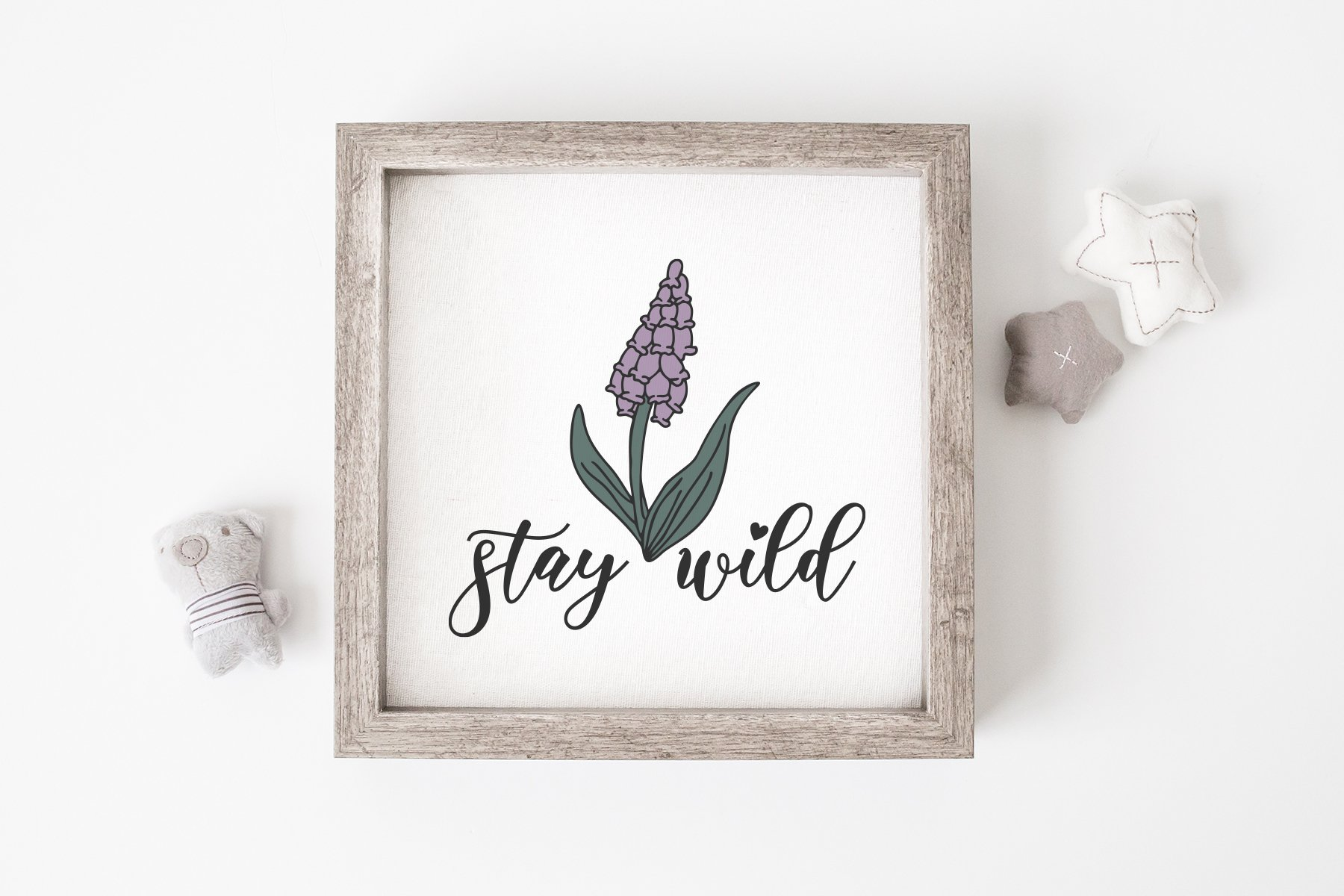 Wildflower SVG   Stay Wild SVG example image 2