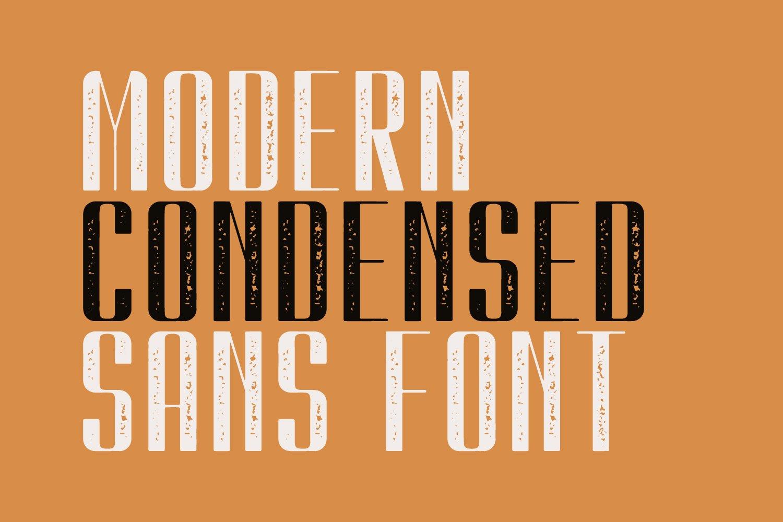 Kionsa Stamp - Vintage Display font example image 4