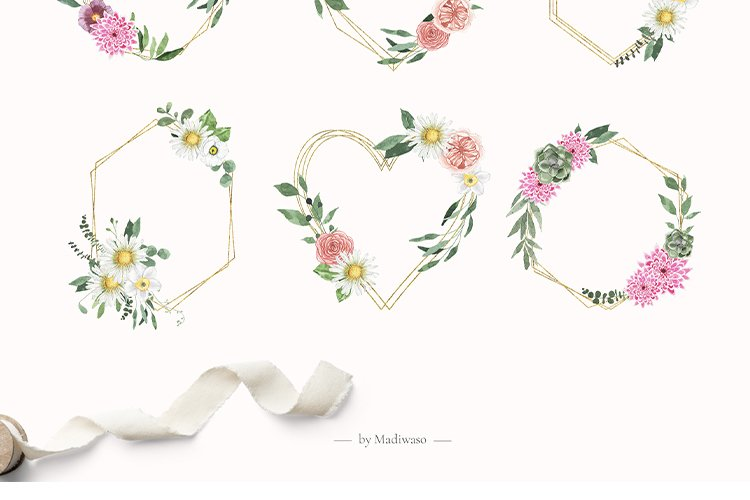 Summer Floral Fields collection example image 12