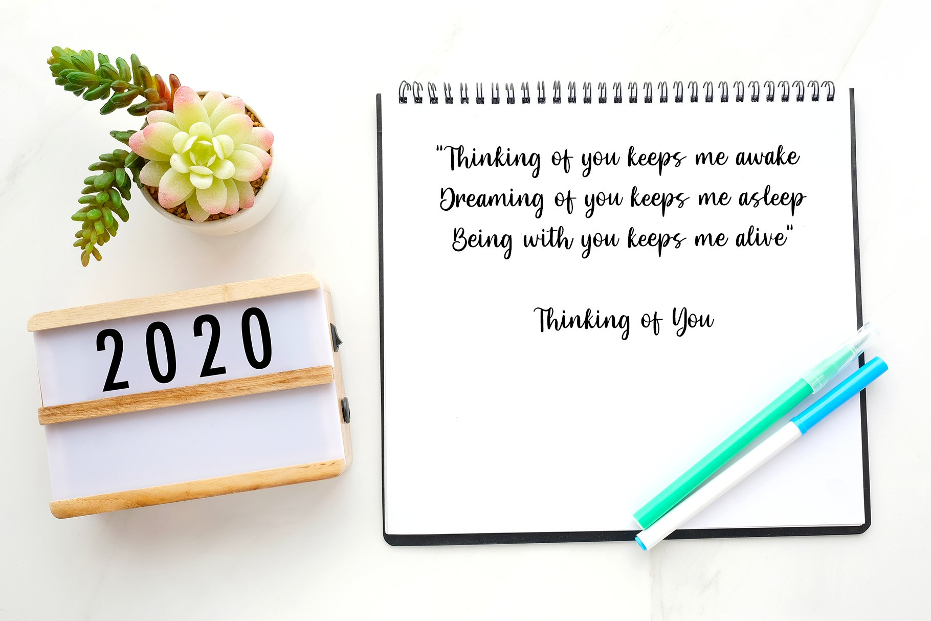 Hello Darling Lovely Script example image 2