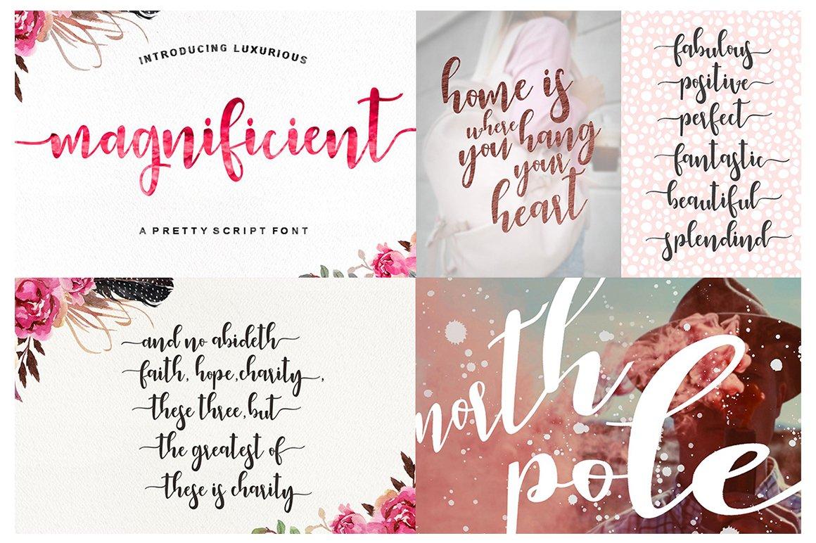 Handlettered Font Bundle example image 13