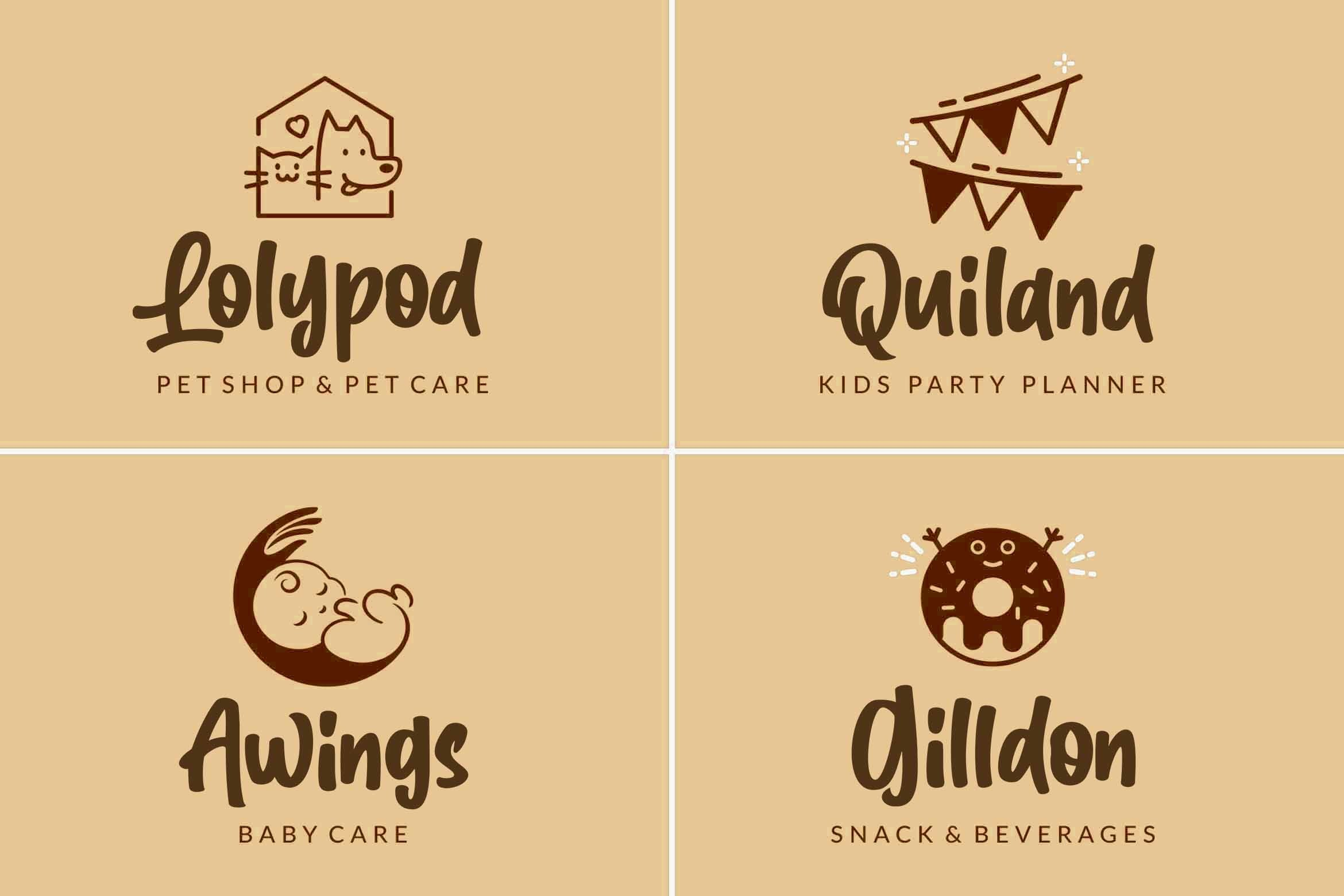Cute Gorilla / Quirky Font example image 7