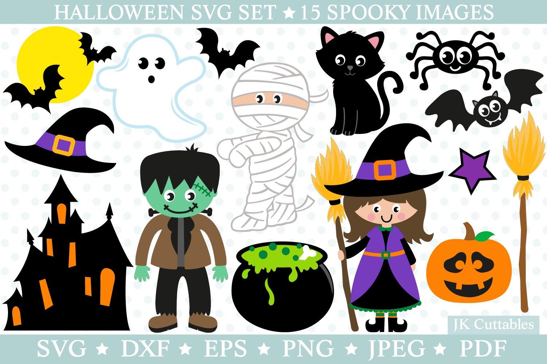 Halloween Svg Files Witch Svg Cat Svg Pumpkin Svg Bat Svg 131436 Cut Files Design Bundles