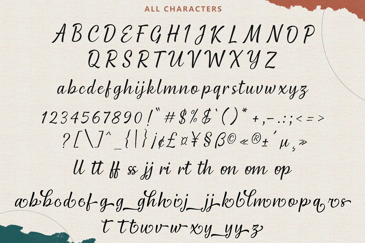 Remington Modern Script example image 12