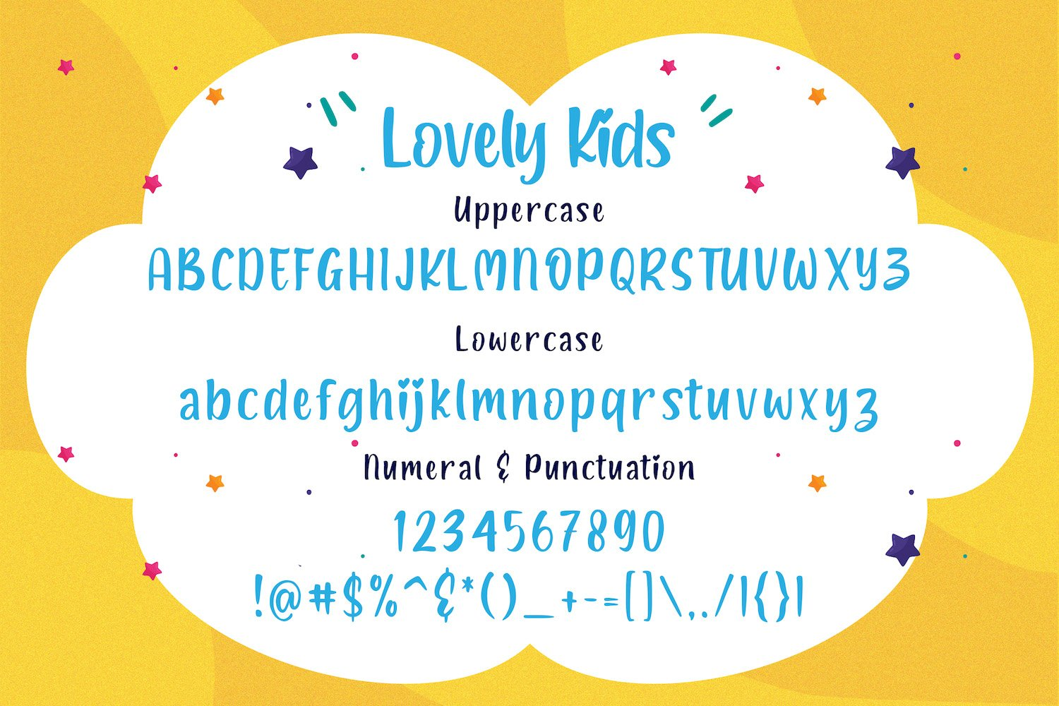 Lovely Kids - Playful Font example image 5