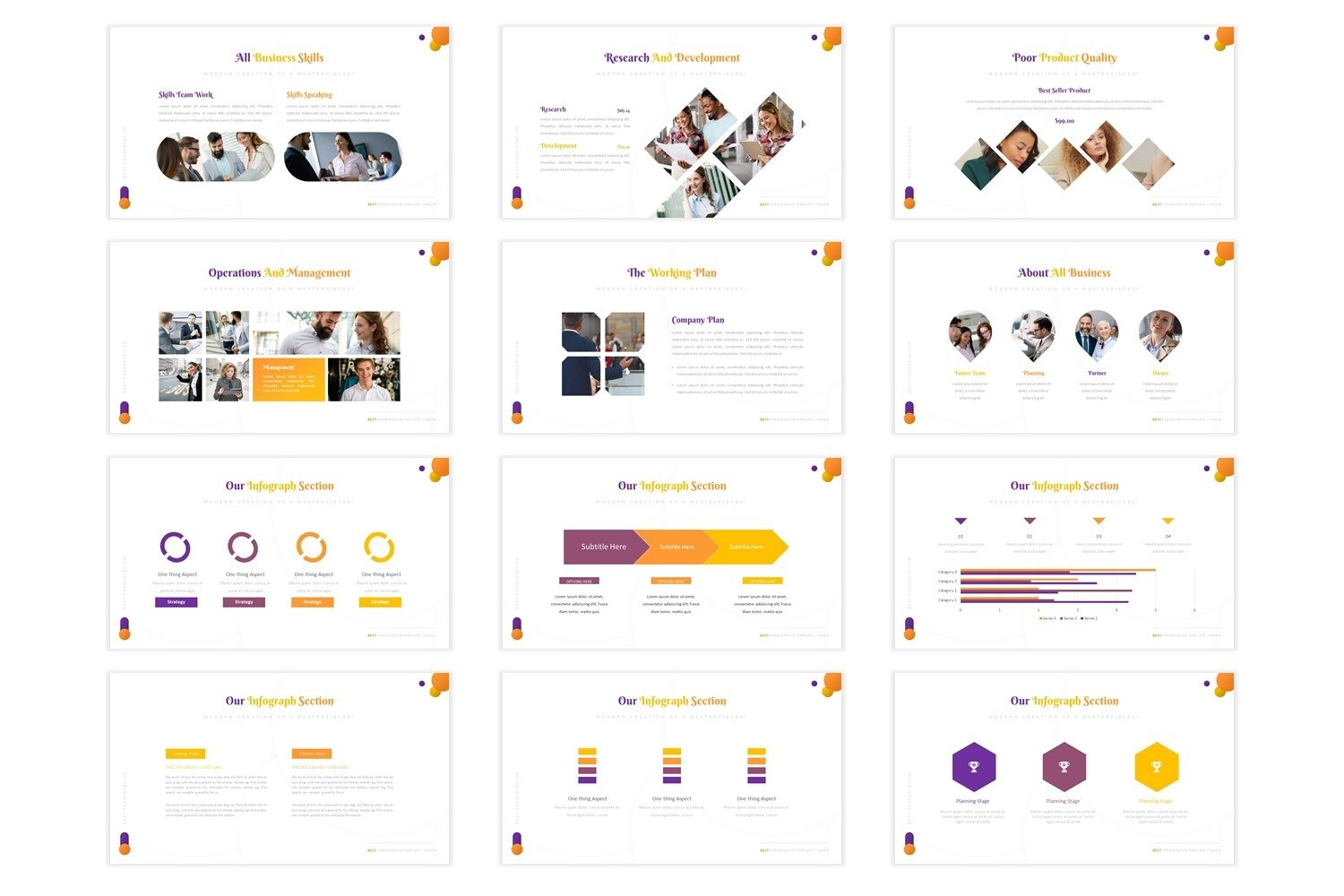 Impruvedstars - Powerpoint Template example image 4