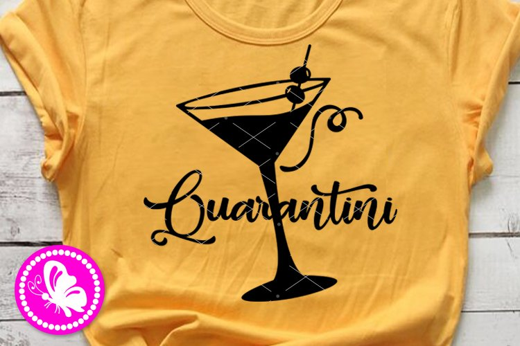 Martini Quarantine Wine Glass Mama needs a Quarantini Home school Mom