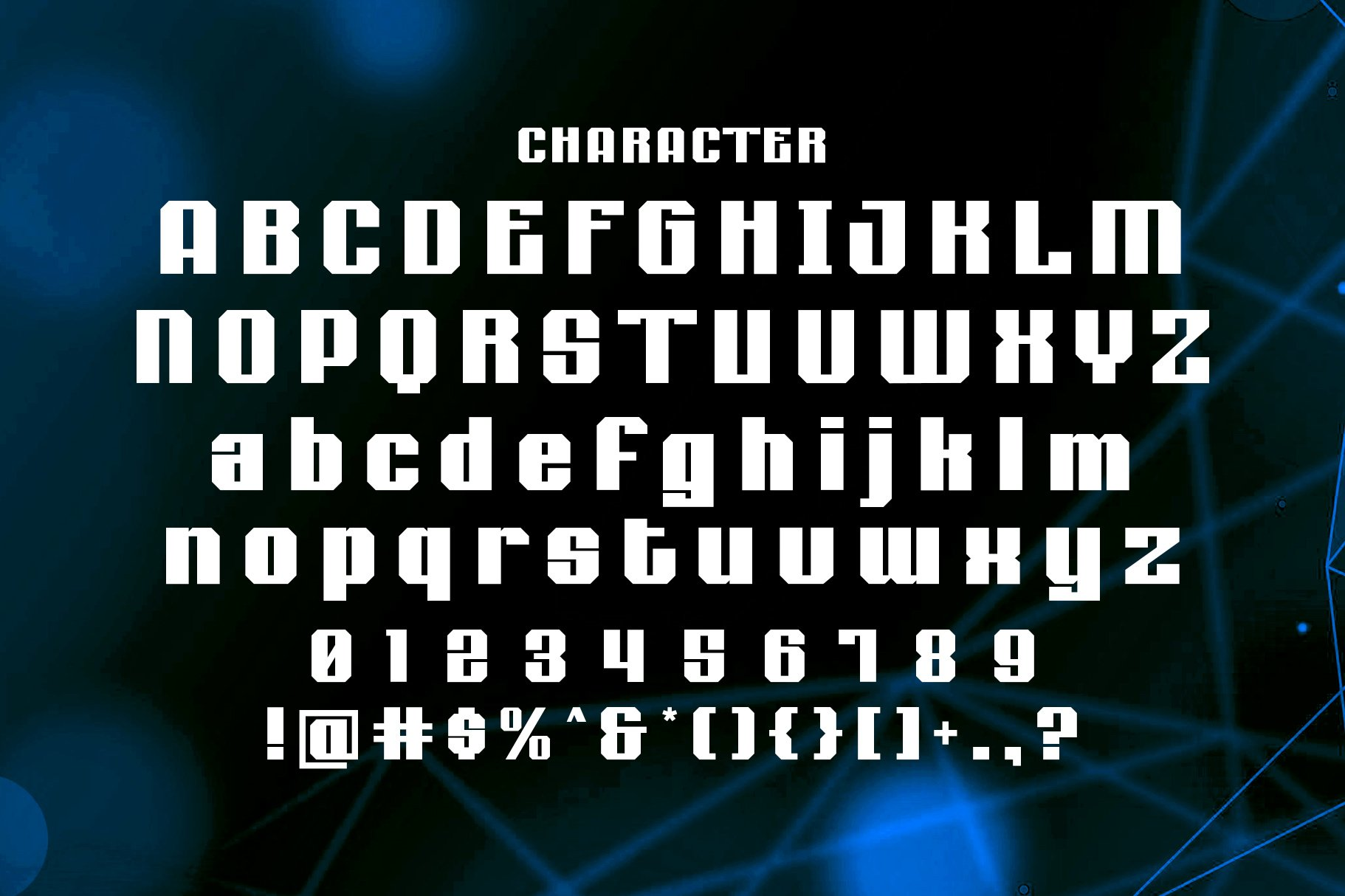Cero - Modern Display Typeface example image 4