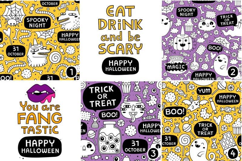 13 Halloween patterns example image 6