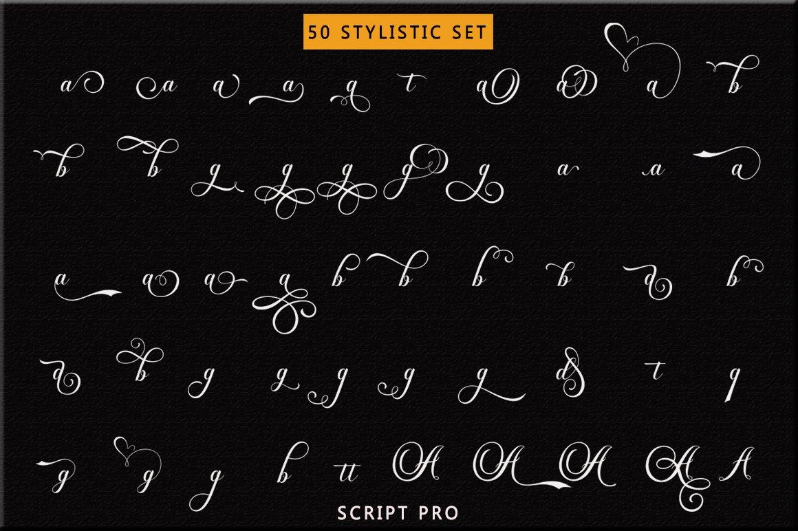 Dayton - Elegant Calligraphy example image 6