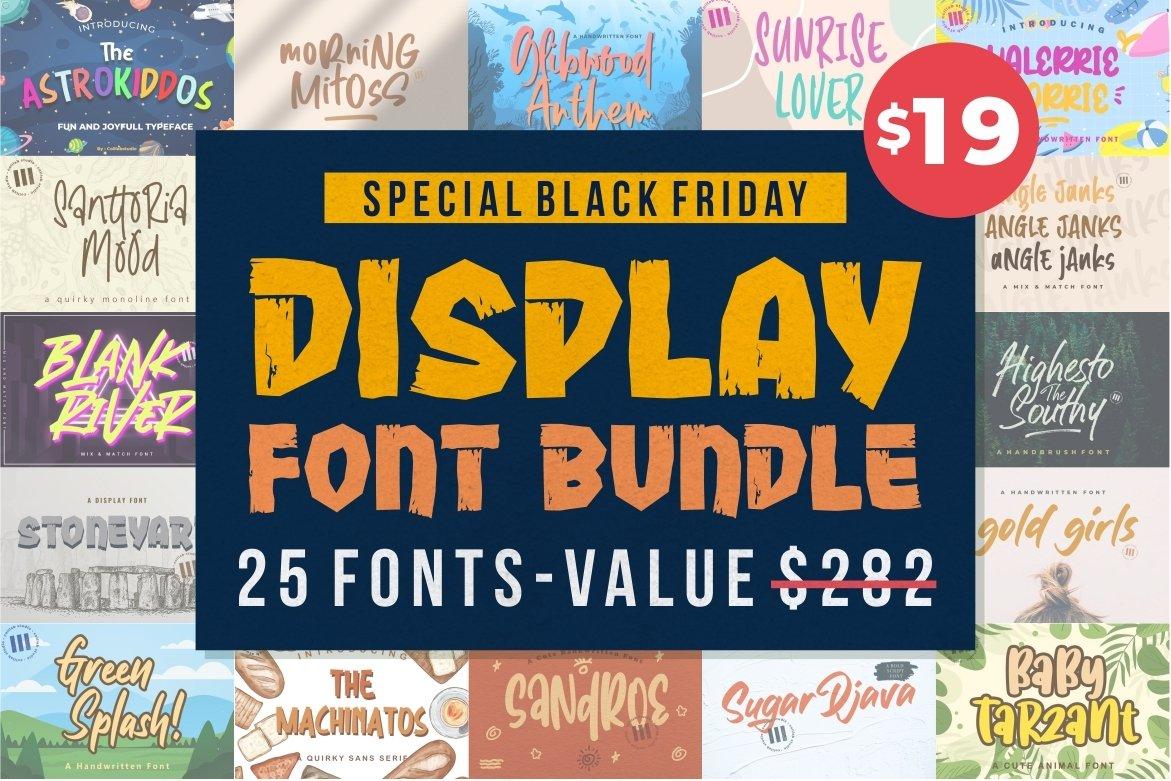 Bundle Display Font