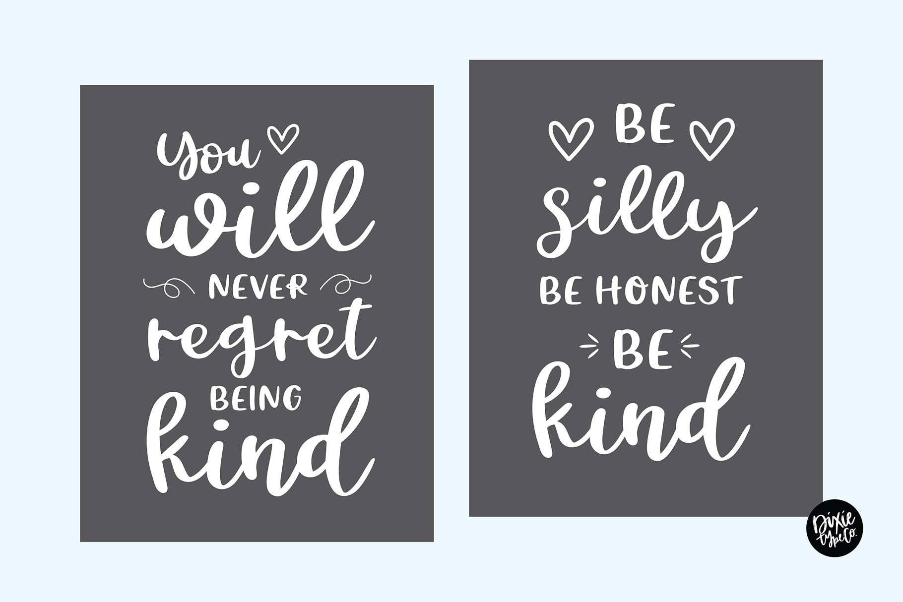 CHEERFUL DESIGNER Script Sans Hand Lettered Font Duo example image 3