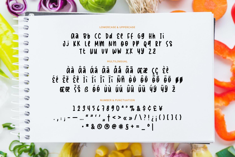 Europhia - Handwritten Display Font example image 5
