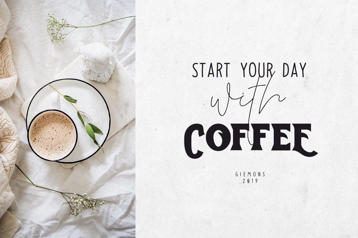 Toast Bread Coffee Typeface example image 4