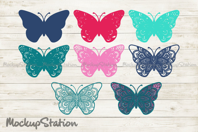 3D Layered Butterfly Mandala Svg Free  – 61+ Popular SVG File