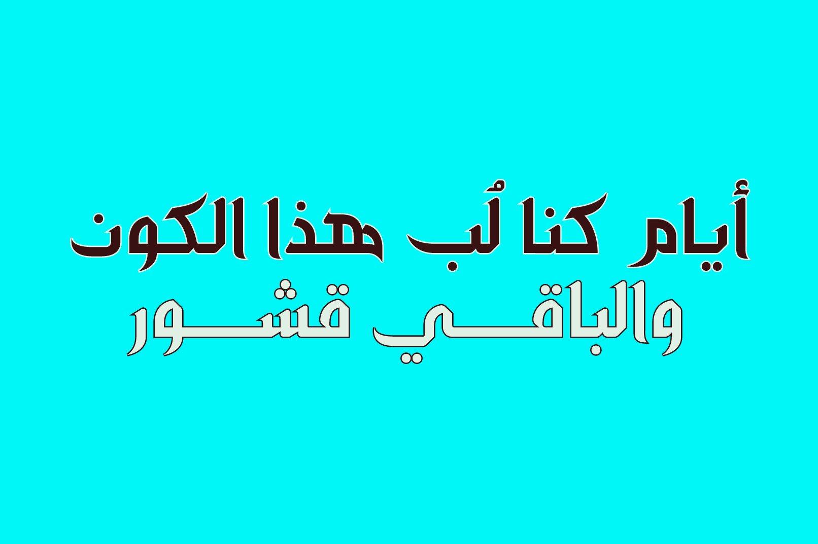 Zahey - Arabic Font example image 10