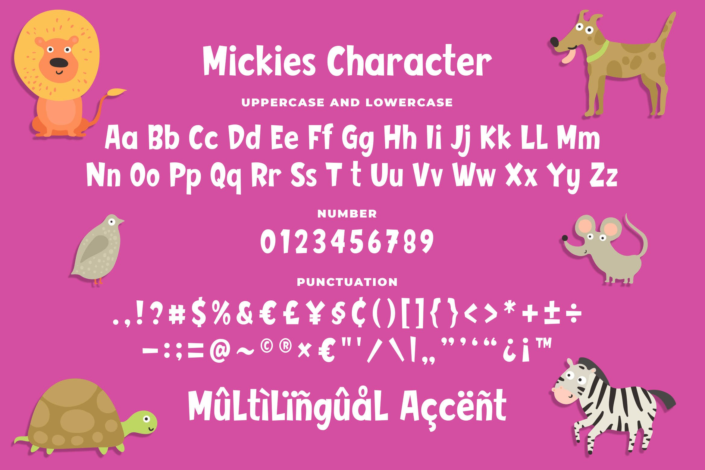 Mickies - Funny Comic Font example image 6