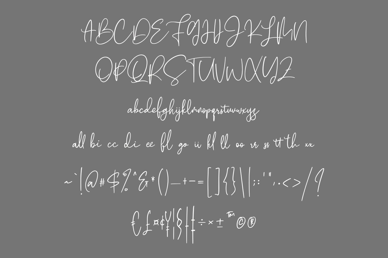 Cherrys Hand Lettered Script Signature Font example image 6