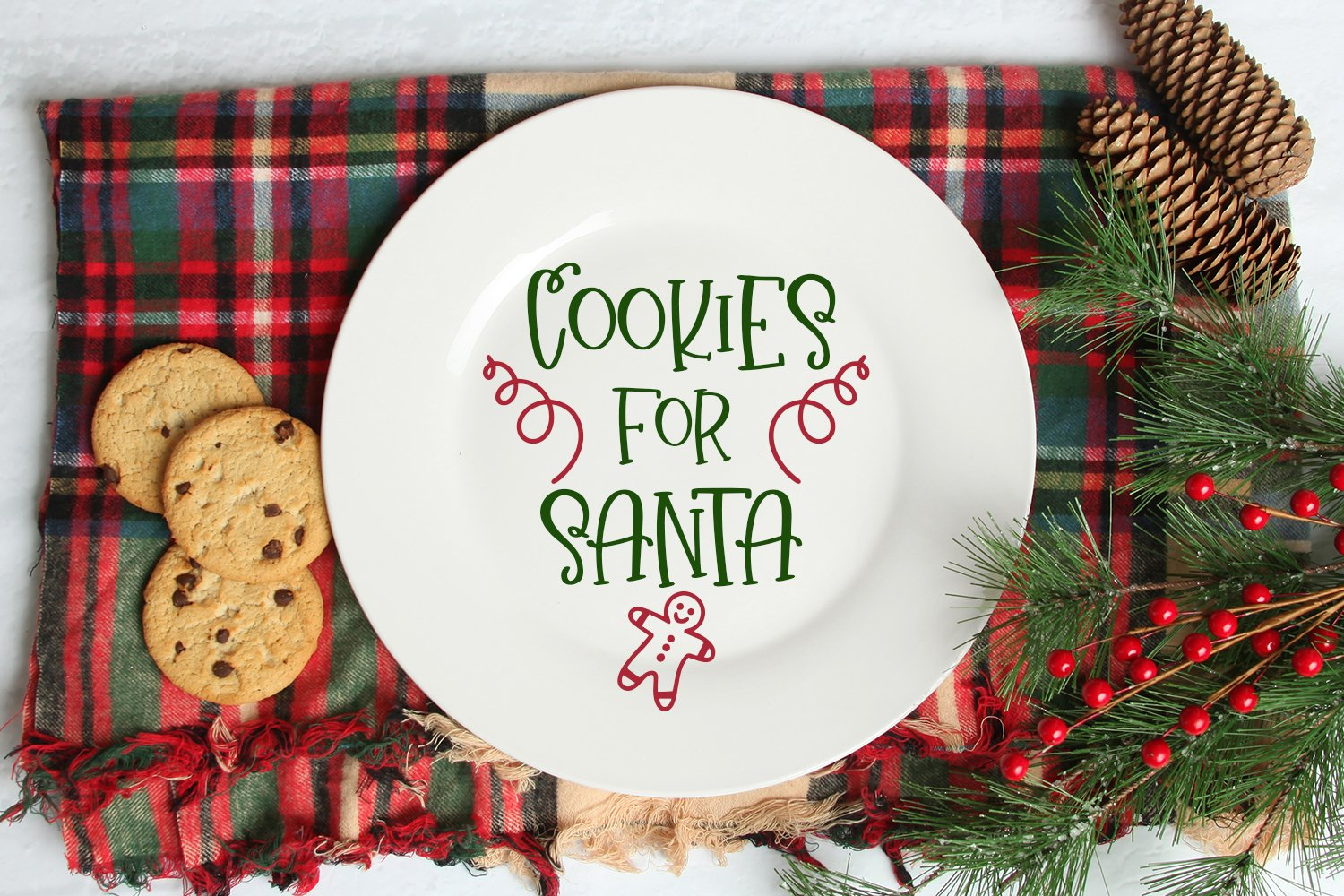 Christmas Wishes - A Christmas Handlettered Font Duo example image 4