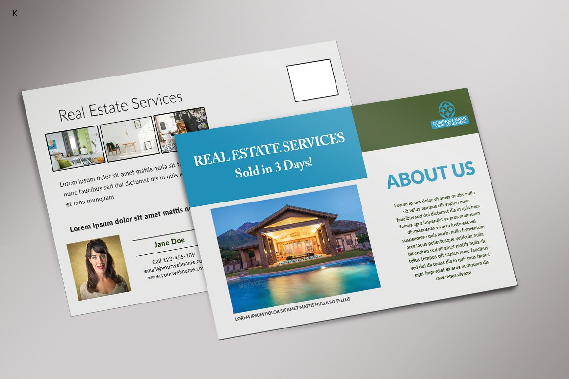 Real Estate Postcard Template from i.fbcd.co