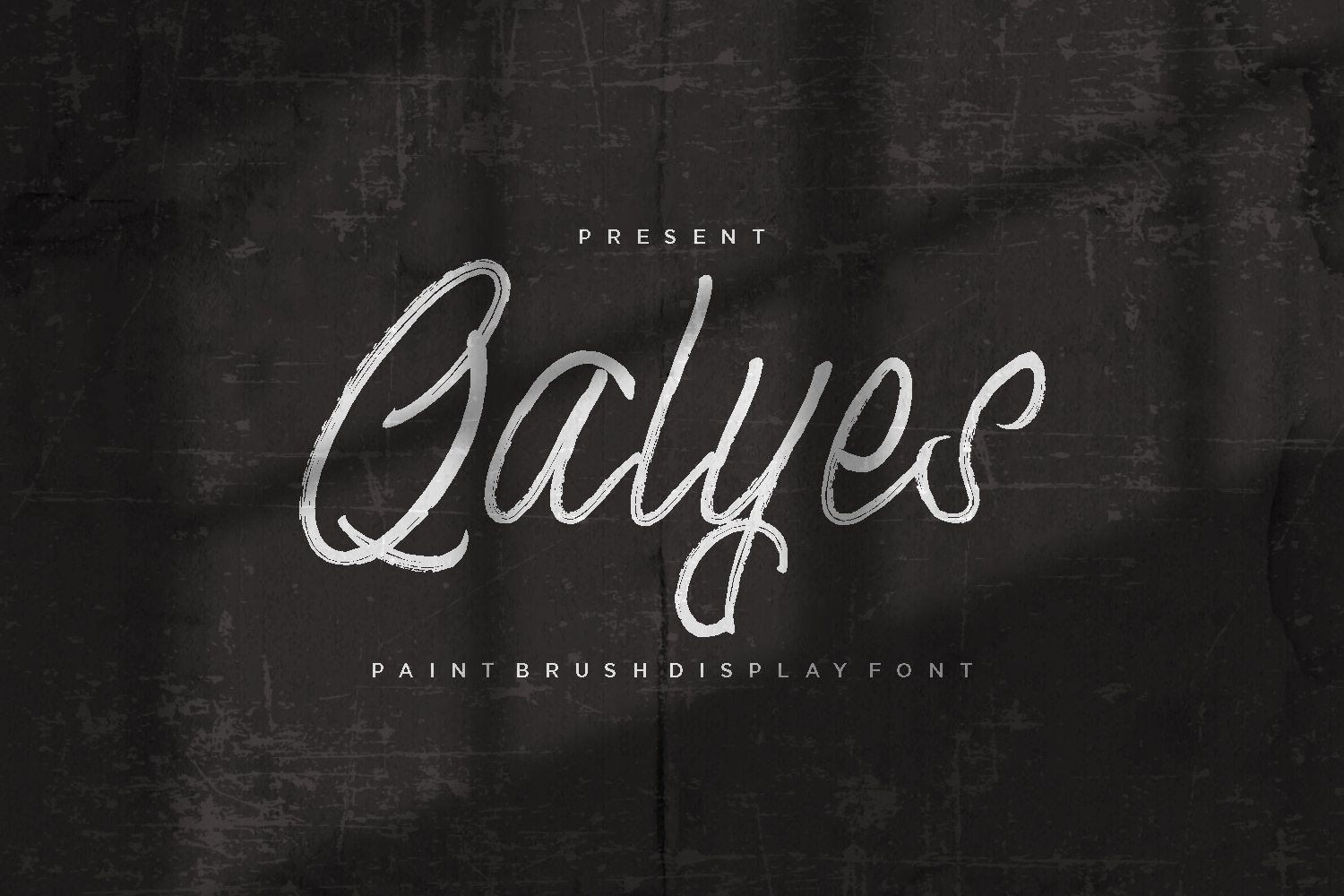 Qalyes - Display Font example image 1