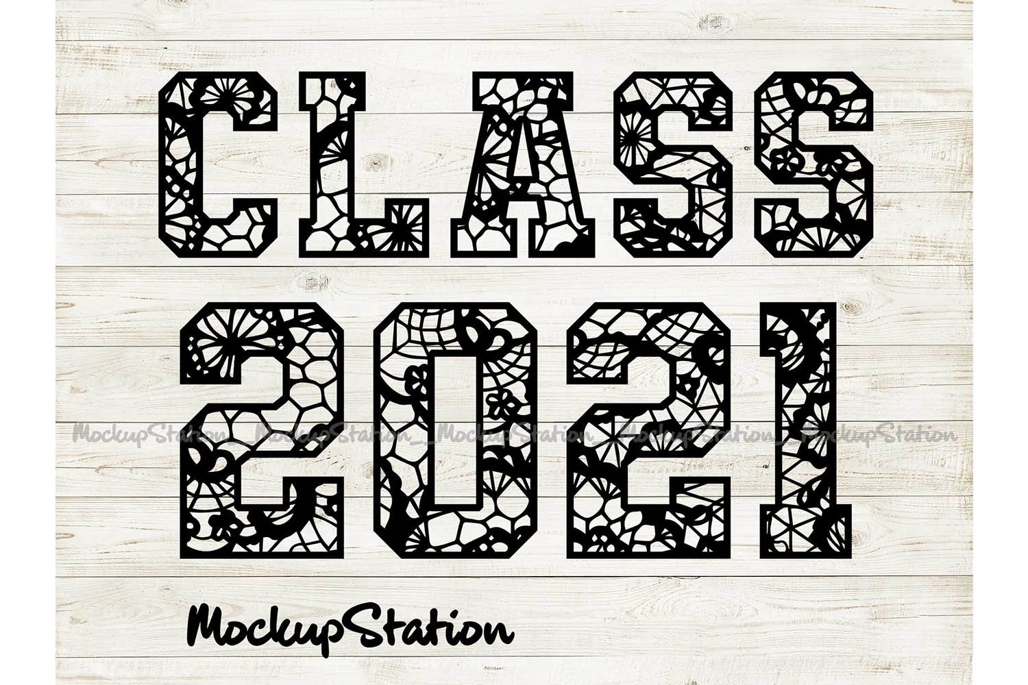 Class 2021 SVG | Senior Class of 2021 DXF EPS PNG Cut Files example image 1