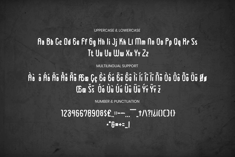 The Album Font example image 3