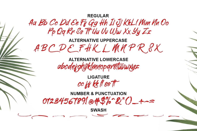 Elliot Brush Font example image 3