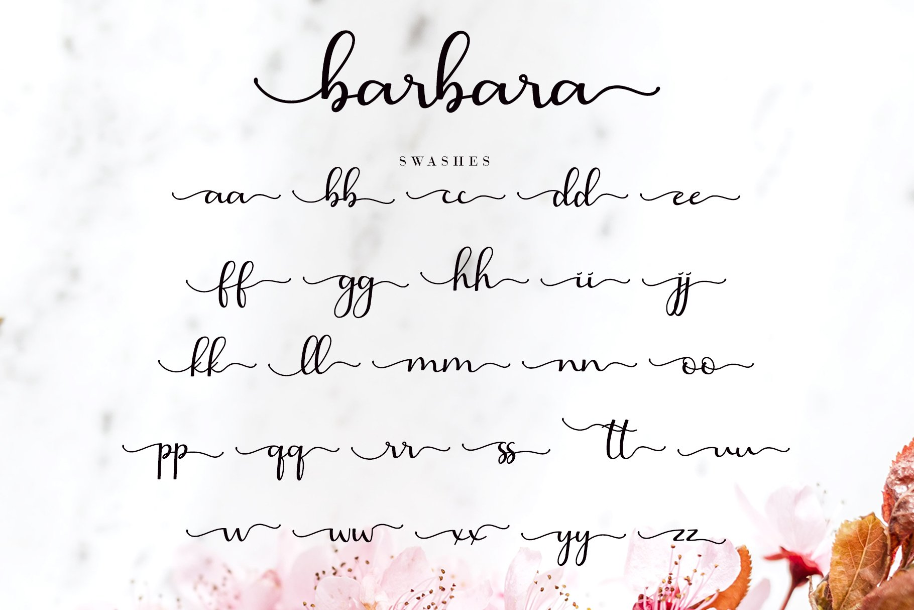 Barbara Calligraphy example image 10