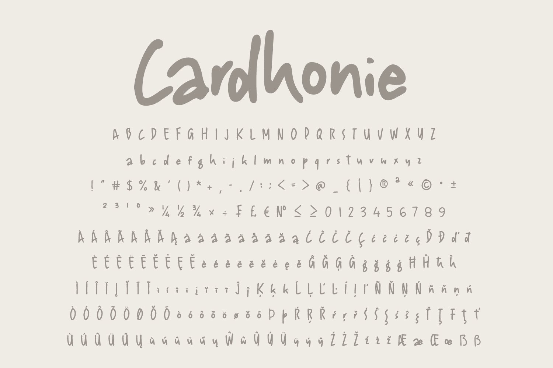 Cardhonie example image 7