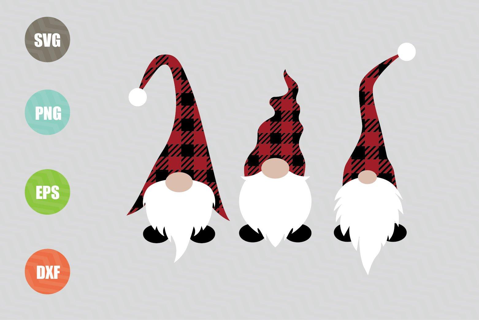 Christmas Gnomes SVG File
