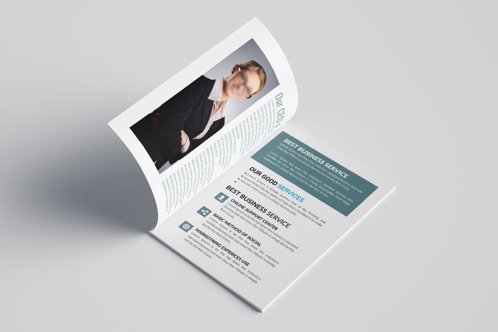 Business Bifold Brochure 16 Pages example image 8