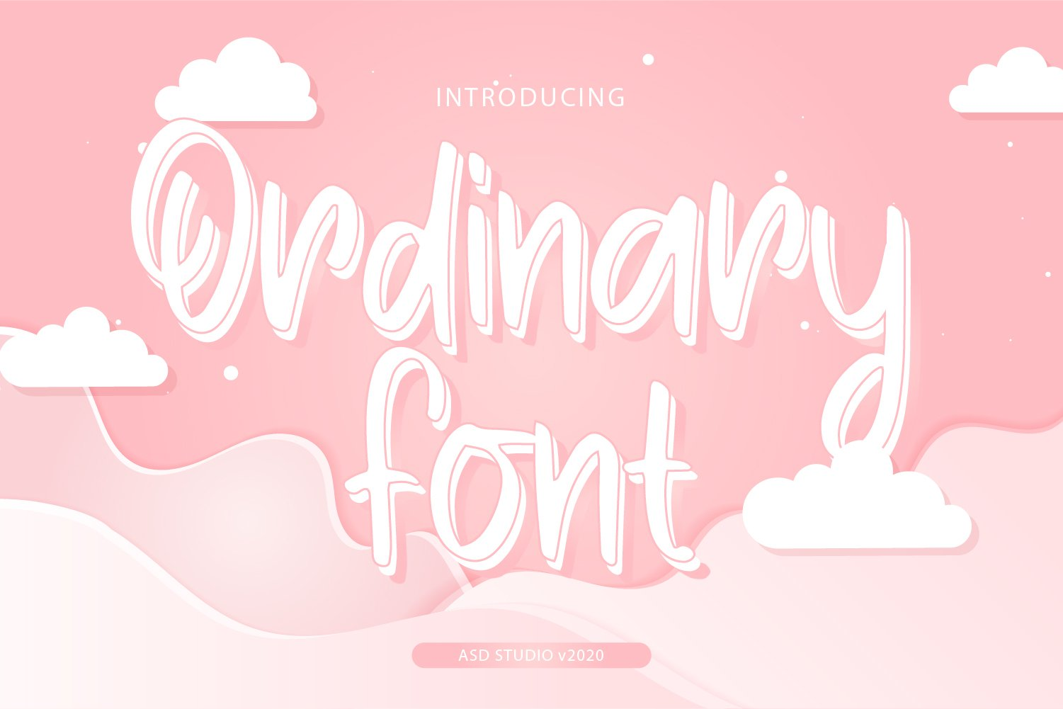 Ordinary Font example image 1